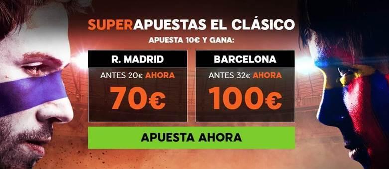 promos apuestas deportiva el clasico real madrid barcelona 2017