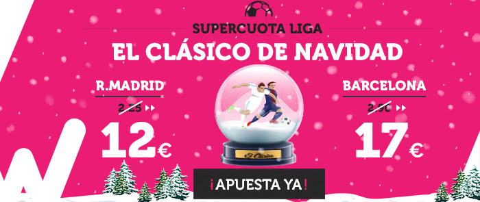 supercuotas wanabet el clasico real madrid barcelona